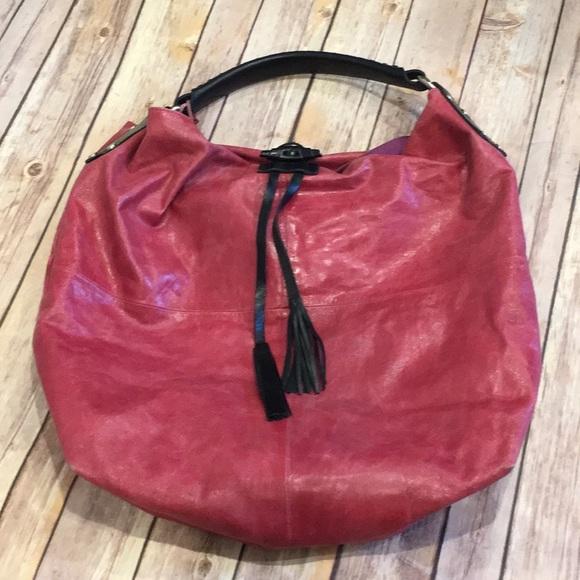 025b1a41b0c Tano Bags   Boho Rose Colored Bucket Handbag   Poshmark